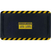 "Hog Heaven™ Sign Mat, Caution/Cuidado, Horizontal Yellow Border, 69""x46""x5/8"""