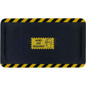 "Hog Heaven™ Sign Mat, Hard Hat Required, Horizontal Yellow Border, 69""x46""x7/8"""