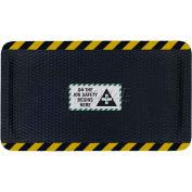 "Hog Heaven™ Sign Mat, On the Job Safety, Horizontal Yellow Border, 69""x46""x7/8"""