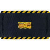 "Hog Heaven™ Sign Mat, Smoke Free Facility, Vertical Yellow Border, 69""x46""x7/8"""