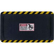 """Hog Heaven™ Sign Mat, Danger Keep Clear, Vertical Yellow Border, 69""""x46""""x7/8"""""""