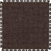 "Hog Heaven Fashion Modular Tile II Side Tile Cocoa Brown 18"" x 21-7/8"""
