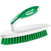 Libman® Commercial Iron Handle Scrub Brush - White - Pkg Qty 6
