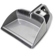 "Libman Commercial 16"" Step-On Dustpan, Silver - 2126 - Pkg Qty 4"