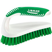 Libman Commercial Hand-Held Power Scrub Brush - 7 x 2-1/2 Scrubbing Surface - Pkg Qty 6