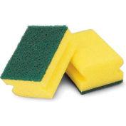 Libman Commercial Heavy Duty Heavy Duty Scrubber, Yellow/Green - 64 - Pkg Qty 6