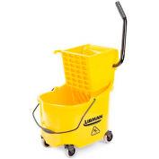 Libman Commercial 26 Quart Mop Bucket & Side-Press Wringer