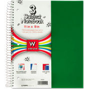 "TOPS® Poly Notebook 59259, Wide, 11"" x 9"", 120 Sheets/Pad, 1 Pad/Pack"