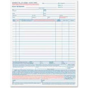 """Tops® Bill Of Lading Forms, 4-Part, Carbonless, 8-1/2"""" x 11"""", White, 50 Sets/Pack"""