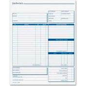 """Tops® Job Invoice with Material List, 3-Part, Carbonless, 8-1/2"""" x 11"""", 50 Sets/Pack"""