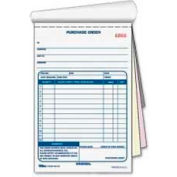 """Tops® Purchase Order Book, 3-Part, Carbonless, 5-9/16"""" x 7-15/16"""", 50 Sets/Pack"""