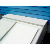 "Bilco® 12"" Extension Panel EXT12, Galvanized Steel, Size C"