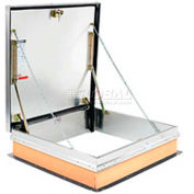 """Bilco® F-40 Roof Hatch w/ Aluminum Cover and Galvanized Curb - 48""""x48"""""""