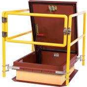"Bilco® RL2-F Rail System for 48""x48"" Roof Hatch"