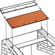 """Bilco® Wall Basement Door Extension SLW6, 14-Gauge Galvanized Steel, 67-1/4""""L X 13-1/4""""W"""