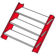 Bilco® Stair Stringers SZ E-SS, 14-Gauge Galvanized Steel, Size E