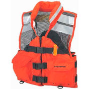 Stearns® Search and Rescue (SAR) Flotation Vest, USCG Type III, Orange, Nylon, 3XL