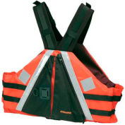 Stearns® Low Profile Flotation Vest, USCG Type III, Orange, Nylon, 2XL