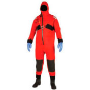 Stearns® I595 Ice Rescue Suit,100% Closed-cell Neoprene, Red/Black, Oversize