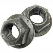 5/8-11 All Metal Flange Hex Locknut - Med Carbon Steel - Phosphate & Oil - Grade G - UNC - Pkg of 20