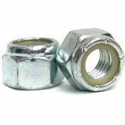 1/4-20 NE Nylon Insert Locknut - Low Carbon Steel - Zinc Yellow - Grade 2 - UNC - Pkg of 100