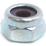 #10-32 NM Nylon Insert Locknut - 18-8 (A2) Stainless Steel & Wax - UNC - Pkg of 100