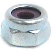 #10-32 NM Nylon Insert Locknut - 18-8 (A2) Stainless Steel & Wax - UNC - Pkg of 100