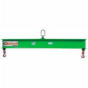Caldwell 419-1-3, Composite Lifting Beam, 1 Ton Capacity, 3' Hook Spread