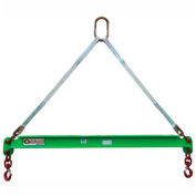 Caldwell 430-1/2-6, Composite Spreader Beam, 1/2 Ton Capacity, 6' Hook Spread