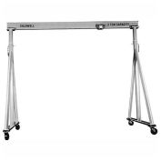 "Caldwell KA90-1-12/10, Adjustable Aluminum Gantry, 1 Ton Capacity, 12' 6"" Height, 10' 9"" Span"