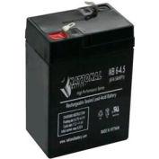 TCPI 20734 Lead Acid Battery 6V 4.5 Ah In-terminals