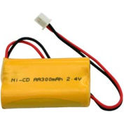 TCPI 207B2 Ni-Cd Battery 2.4V 300 mAh