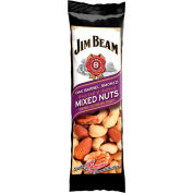 Jim Beam®  Mixed Nuts, Oak Barrel Smoked, 1.5 Oz. - Pkg Qty 12