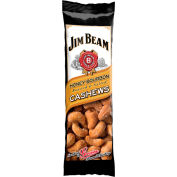Jim Beam®  Cashews, Honey Bourbon, 1.5 Oz. - Pkg Qty 12