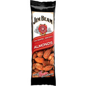 Jim Beam®  Almonds, Oak Barrel Smoked, 1.5 Oz. - Pkg Qty 12