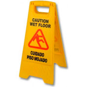 """O'Dell 24"""" 2-Sided Safety Sign, Pack Qty 6, B-132 - Pkg Qty 6"""