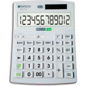 "Hybrid Power 12 Digit Desktop Calculator, 7-1/2""W x 10-5/6""D x 1-1/3""H"