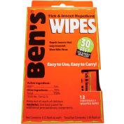 Ben's® 30% Deet Field Wipes - Pkg Qty 12