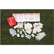 """Easy Care Sport and Travel First Aid Kit, 5-1/4"""" x 2-1/2"""" x 7-1/4"""""""