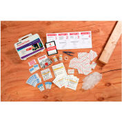 """Easy Care Home and Workshop First Aid Kit, 10-1/3"""" x 3-1/2"""" x 9"""""""