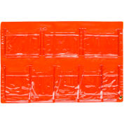First Aid Door Pouch For 2 Shelf First Aid Cabinet, 8 Pocket