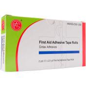 "Adhesive Tape Rolls, 0.5"" x 2.5 yds, 2 pcs/Box - Pkg Qty 10"