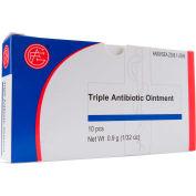 Triple Antibiotic Ointment, 0.9 gram, 10 pcs/Box - Pkg Qty 10