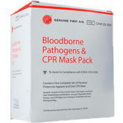 Bloodborne Pathogens & CPR Mask Pack