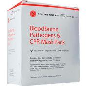 Bloodborne Pathogens & CPR Mask Pack - Pkg Qty 12