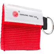 Genuine® Mini Carrying Case with Key Ring & CPR Barrier