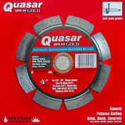 "4"" Quasar Rapid-Kut 100 ""Gold"" Segmented Diamond Blade"