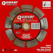 "4.5"" Quasar Rapid-Kut 100 ""Gold"" Segmented Diamond Blade"