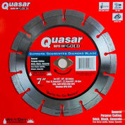 "7"" Quasar Rapid-Kut 100 ""Gold"" Segmented Diamond Blade"