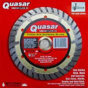 """4.5"""" Quasar Turbo-Kut """"Gold"""" Turbo Rim Diamond Blade"""